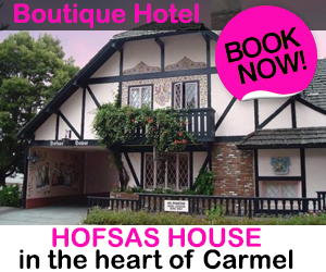 Hofsas House Boutique Hotel in Carmel, California