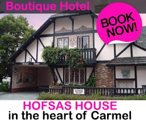 Hofsas House Boutique Hotel in Carmel, California