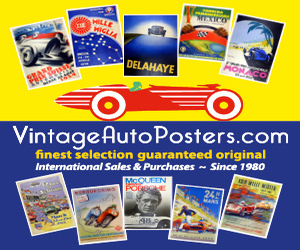 Buy Vintage Auto Posters