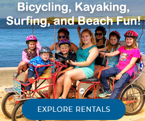 Rent eBike and Kayak in Monterey, California