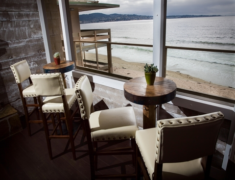 Cafe Beach Restaurant at Monterey Tides Hotel