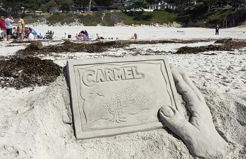 Carmel Beach Sandcastle Contest
