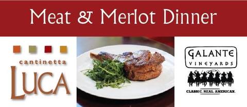 Meat & Merlot Dinner