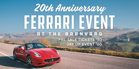 Annual Ferrari Owners Club Gathering