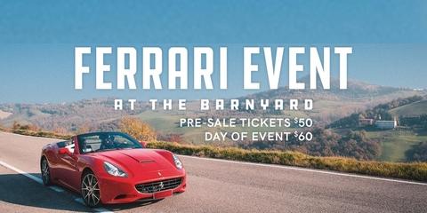 Annual Ferrari Owners Club Gathering