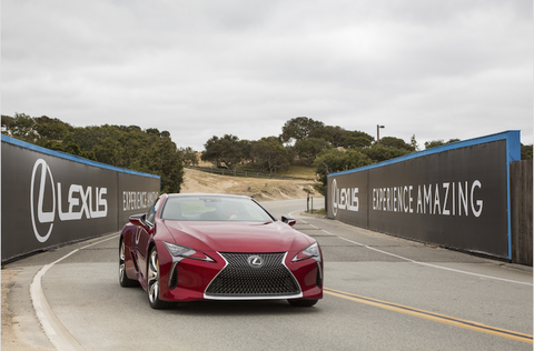 Drive Like a Pro at Lexus