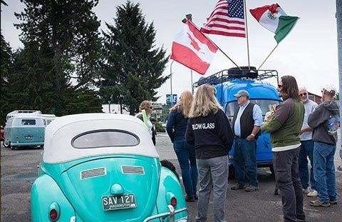 Border to Border VW Cruise and Car Show