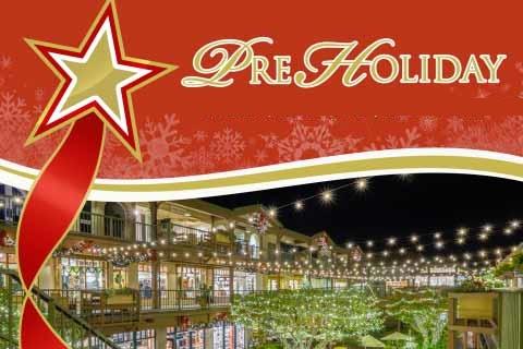 Carmel Plaza Pre-Holiday Prep Party & Fashion Show