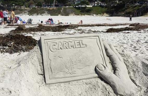 Carmel Beach Sandcastle Contest