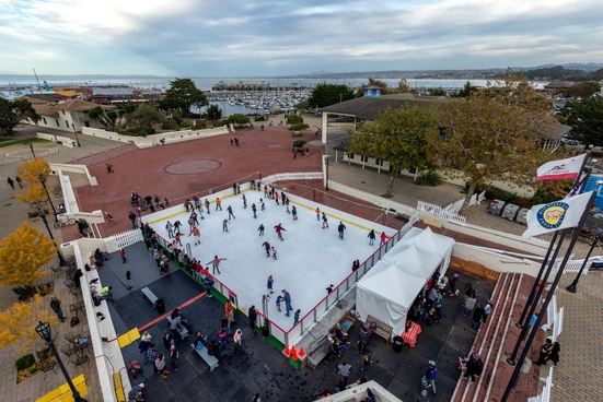 Ice Skating by the Bay