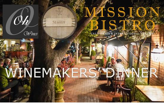 Seavey & Oh Winemakers' Dinner