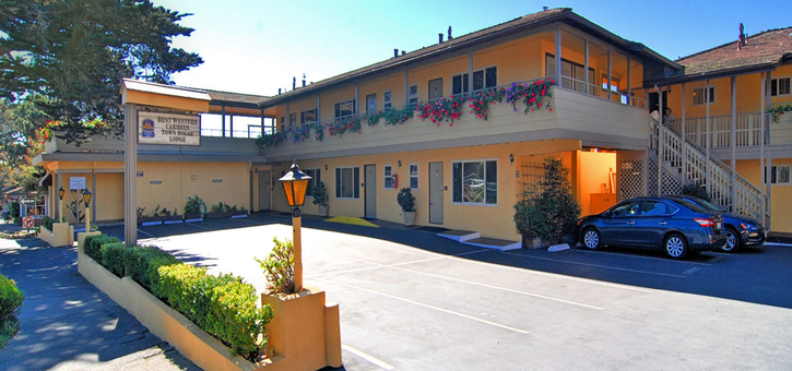Best Western Carmel's Townhouse Lodge