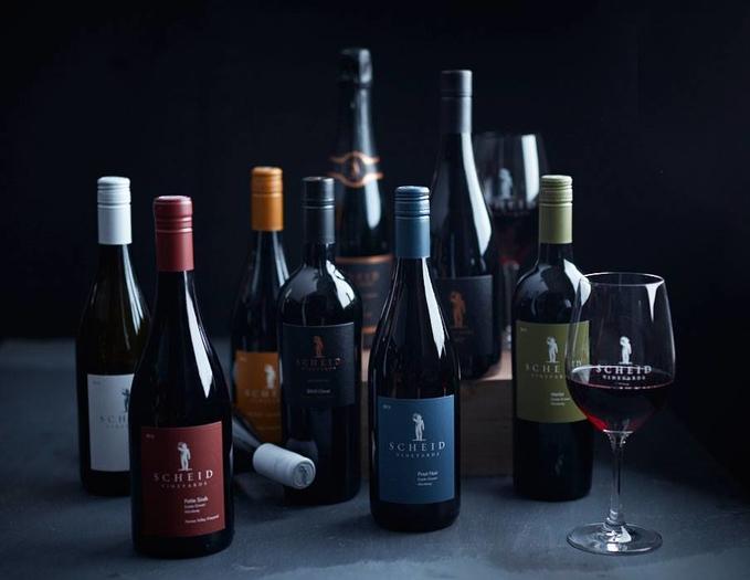 Scheid Vineyards Tasting Room