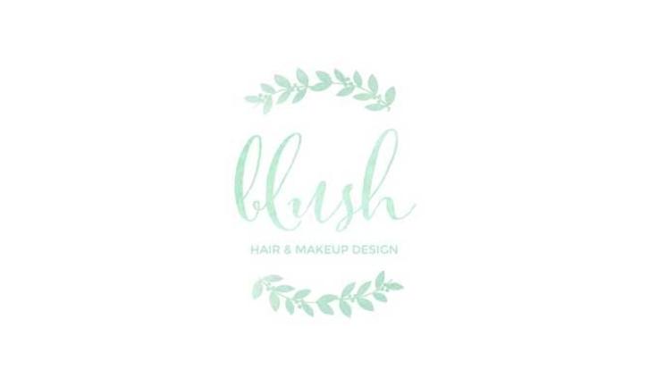Blush Hair and Makeup Design
